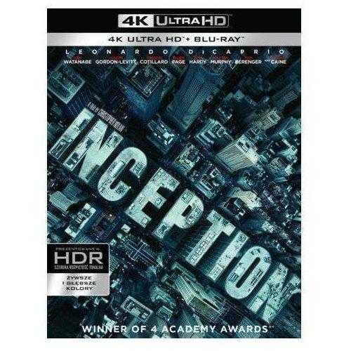 Incepcja (Blu-ray 4K) - Christopher Nolan DARMOWA DOSTAWA KIOSK RUCHU (7321999347659)