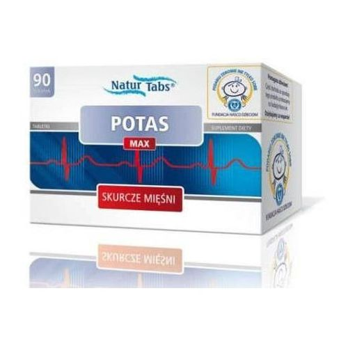 POTAS MAX NATURTABS x 90 tabletek