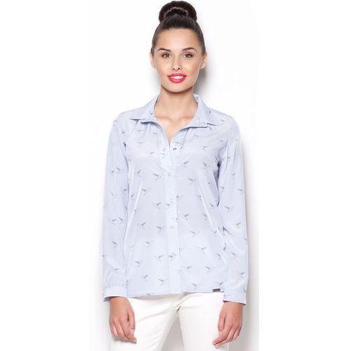 Koszula FIGL M284 - oferta [3592257d77b13408]