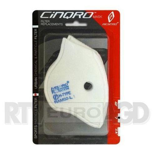 Respro cinqro sport filter pack rozmiar xl - 2 szt. - produkt w magazynie - szybka wysyłka!