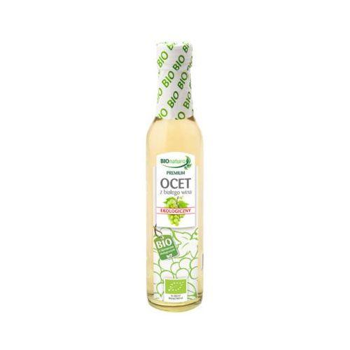 Bionaturo 250ml ekologiczny ocet z białego wina 10% bio