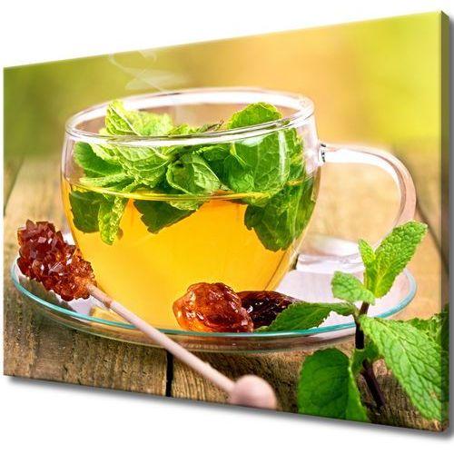 Obraz tryptyk herbatka miętowa cukier trzcinowy ar marki Cenodi