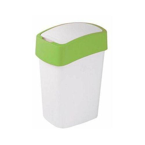 Kosz na śmieci Sorter na śmieci Flip Bin 50L green.wh - produkt dostępny w twojekosze.pl