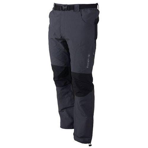 Męskie spodnie trekkingowe globtroter grafit xxl marki Viking