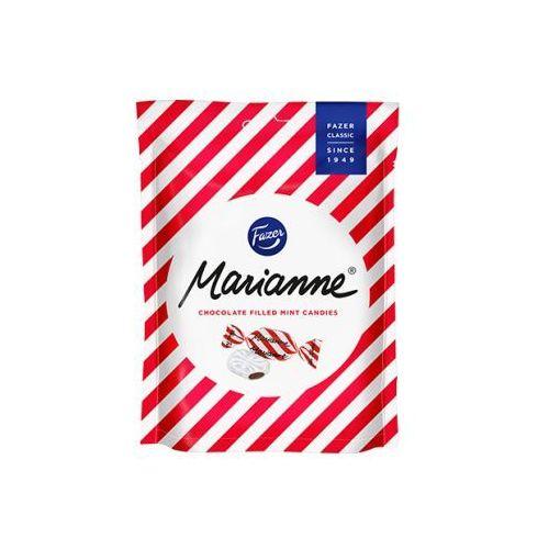 Fazer - Marianne Peppermint - czerwone - cukierki miętowe z wnętrzem czekoladowym - 220g (6410803642019)