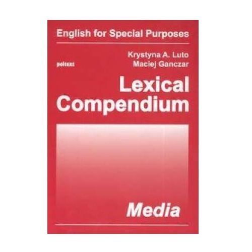 Lexical Compendium. Media, Poltext