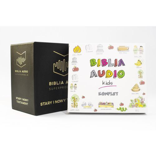 ZESTAW RODZINNY - BIBLIA AUDIO CD BOX + BIBLIA AUDIO KIDS
