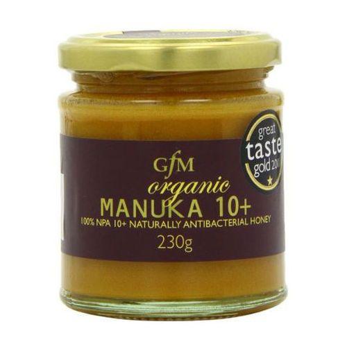 Organiczny miód Manuka 10+ 230g (5030149024136)