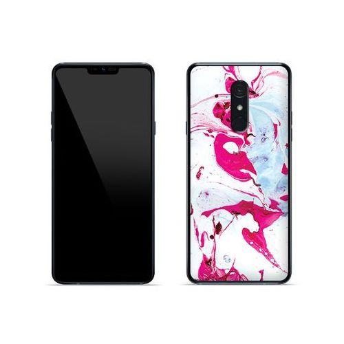 Etuo fantastic case Lg g7 fit - etui na telefon fantastic case - różowy marmur