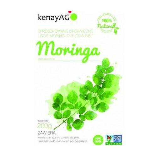 Moringa sproszkowane organiczne liście 200g marki Kenay ag