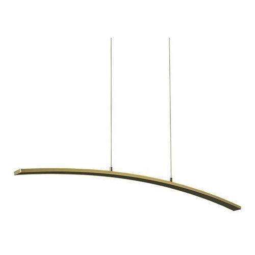 Lampa wisząca Italux Melodie ZWD-0018-04H BB zwis 21W LED mosiądz szczotkowany