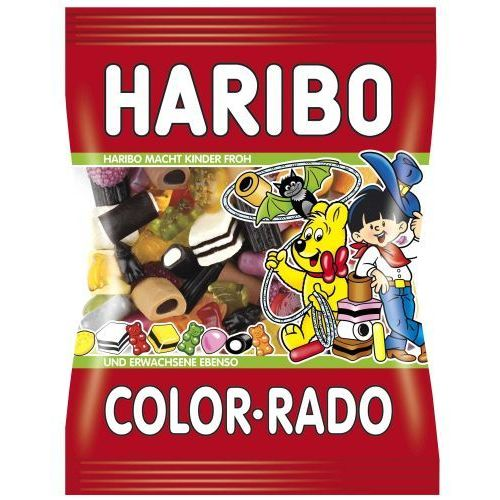 color rado 220 g marki Haribo