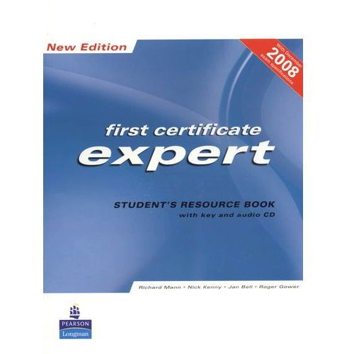 FCE Expert New Edition Student's Resource Book with Key plus Audio CD, Longman Pearson Education