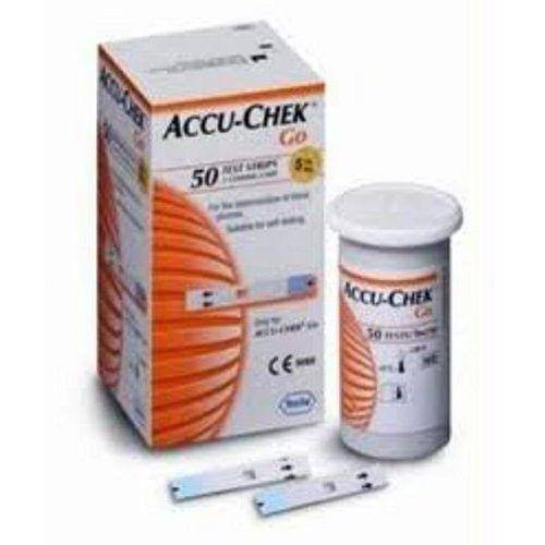 Produkt Accu-Chek Go test paskowy 50 szt., marki ROCHE DIAGNOSTICS GMBH Niemcy