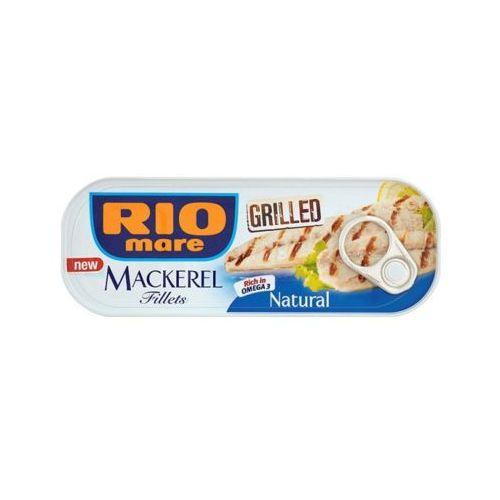 Rio mare 120g grillowane filety makreli w sosie własnym