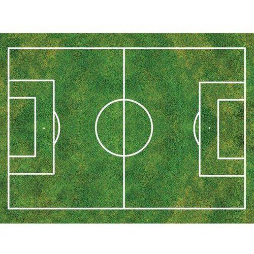 Dekoracyjny opłatek tortowy z nadrukiem - boisko do piłki nożnej