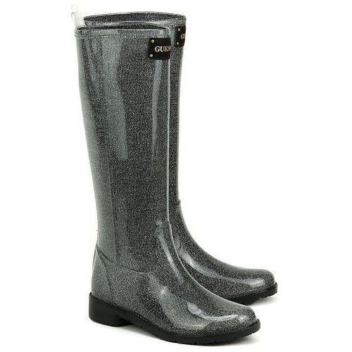 Ribby - Szare Gumowe Kalosze Damskie - FL1RBYRUB12 SILVE (kalosz damski) od MIVO Shoes Shop On-line
