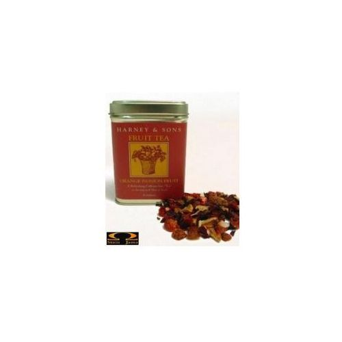 Herbata orange - passion fruit owocowy napar puszka 114g marki Harney & sons