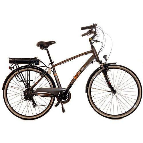 Rower elektryczny EcoBike City Men 28+bateria headway