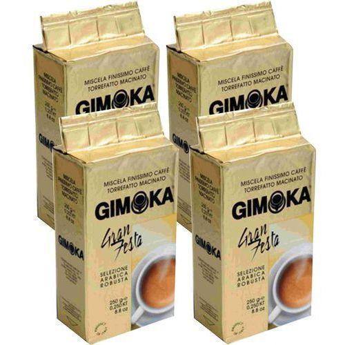 Gimoka kawa mielona gran festa 4x 250g (8595631701393)