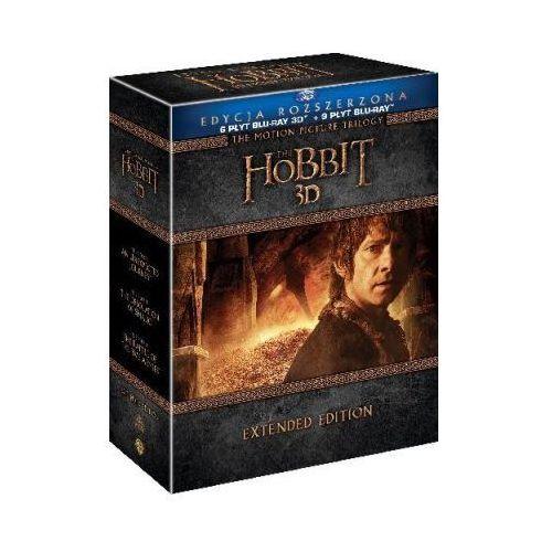 Galapagos Hobbit: trylogia 3d. wydanie rozszerzone (15bd) (7321999339074)