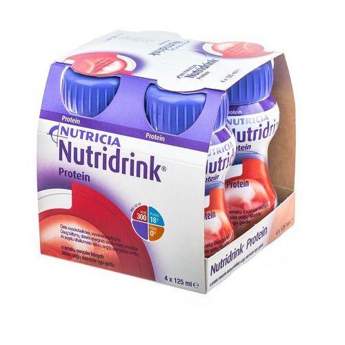 Nutridrink Protein smak owoców leśnych 4 x 125ml - oferta [05c5ef0c8152c5db]