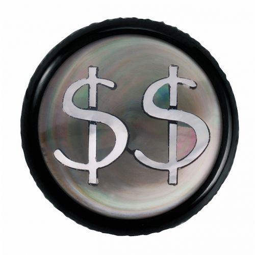 regler knopf, rund 6mm, dollar, sw gałka potencjometru, round 6mm, dollar, bk marki Warwick