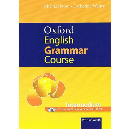 Oxford English grammar course intermediate, oprawa miękka