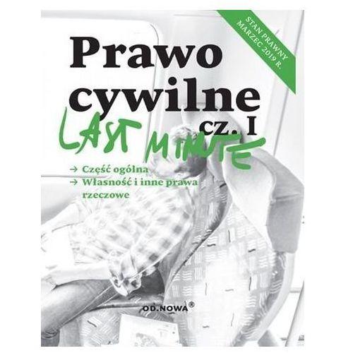 Last Minute Prawo Cywilne część 1 (232 str.)