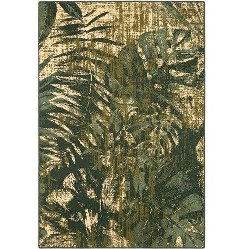Dywan Agnella Basic Jungle Ciemny Zielony 80x150