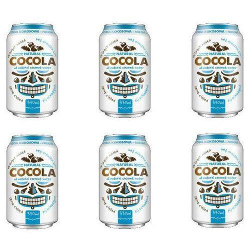 Naturalna Woda Kokosowa w Puszce 6x330ml - COCOLA DIET-FOOD