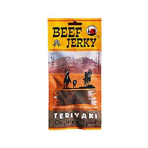 BULLSEYE MEATS 50g Beef Jerky Teriyaki Peklowana suszona wołowina