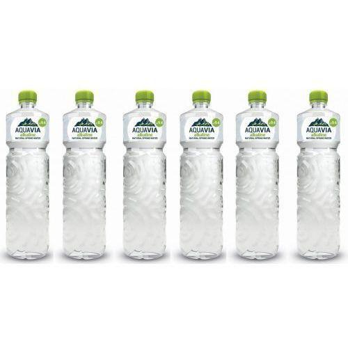 Aquavia Zestaw 6 szt - woda źródlana alkaliczna niegazowana 6 x 1l -
