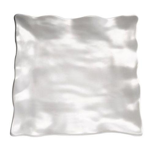 Półmisek kwadratowy z melaminy 360x360x50 mm, biały | APS, Global Buffet