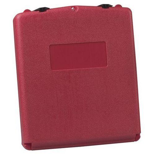 Pojemnik na dokumenty, otwieranie do przodu, wys. x szer. x gł. 400x333x90 mm. D