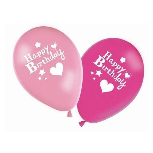Procos Balony z nadrukiem happy birthday - 28 cm - 8 szt.
