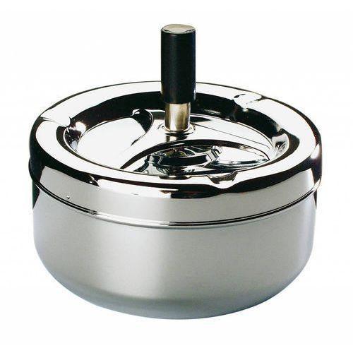 Popielniczka z przyciskiem - chromowana   Ø130x105 mm marki Aps