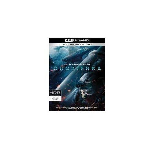Dunkierka (blu-ray 4k) - christopher nolan darmowa dostawa kiosk ruchu marki Galapagos