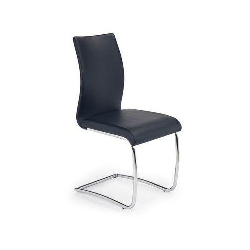 Eleganckie krzesło na płozach k180 marki Halmar