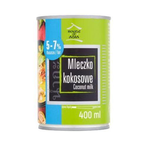 HOUSE OF ASIA 400ml Mleczko kokosowe 5-7% tłuszczu
