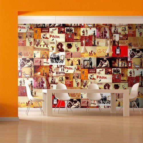Fototapeta - kolaż - banksy marki Artgeist