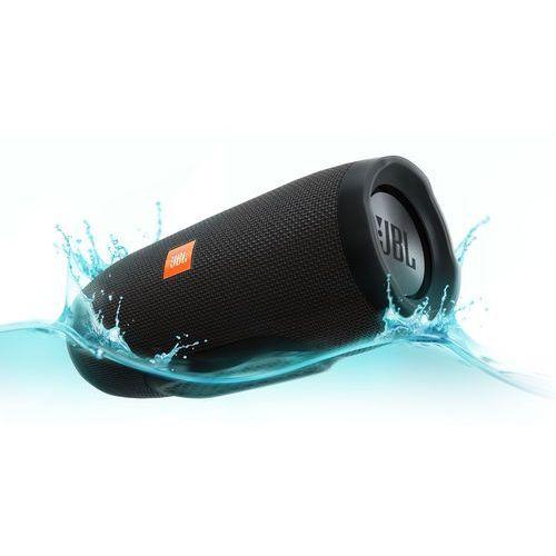 Jbl Głośnik mobilny charge 3 czarny wodoodporny ipx7 + darmowy transport! (6925281914188)