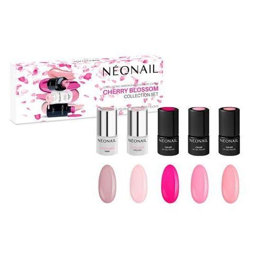 Neonail Zestaw lakierów hybrydowych cherry blossom: 5 kolorów x 3ml