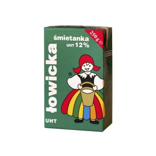 Łowicz Śmietanka do kawy 12% 250g.
