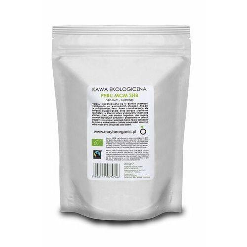 Maybe organic Kawa ziarnista ekologiczna peru mcm shb 200 g - ziarnista