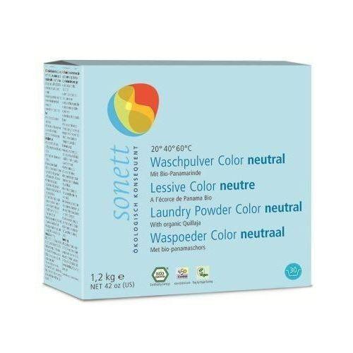 Sonett Neutral proszek do prania tkanin kolorowych bezzapachowy 1,2 kg (proszek do prania ubrań)