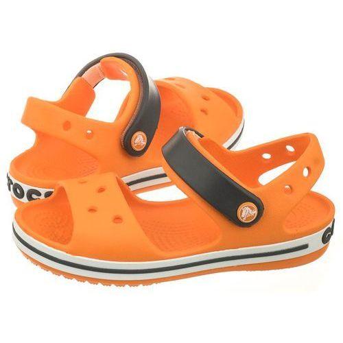 Sandałki Crocs Crocband Sandal Kids Blazing Orange/Slate Grey 12856-82N (CR39-j), 12856-82N