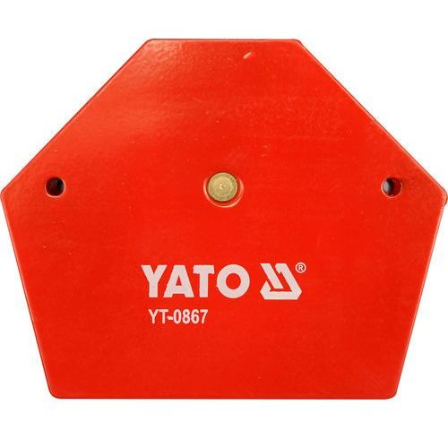 Yato Spawalniczy kątownik magnetyczny 111x136x24 mm / yt-0867 /  - zyskaj rabat 30 zł