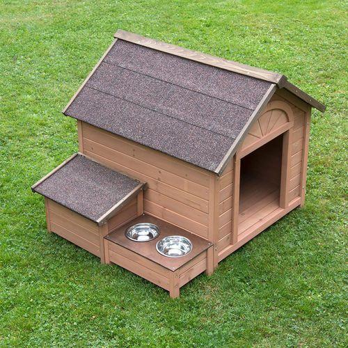 Bitiba Buda dla psa sylvan komfort, l - l: szer. x gł. x wys.: 104 x 91 x 81 cm   dostawa gratis!   rabat 5% na wszystko!