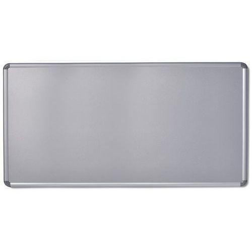 Tablica ścienna design, lakierowanie na kolor srebrny, szer. x wys. 2400x1200 mm marki Office akktiv
